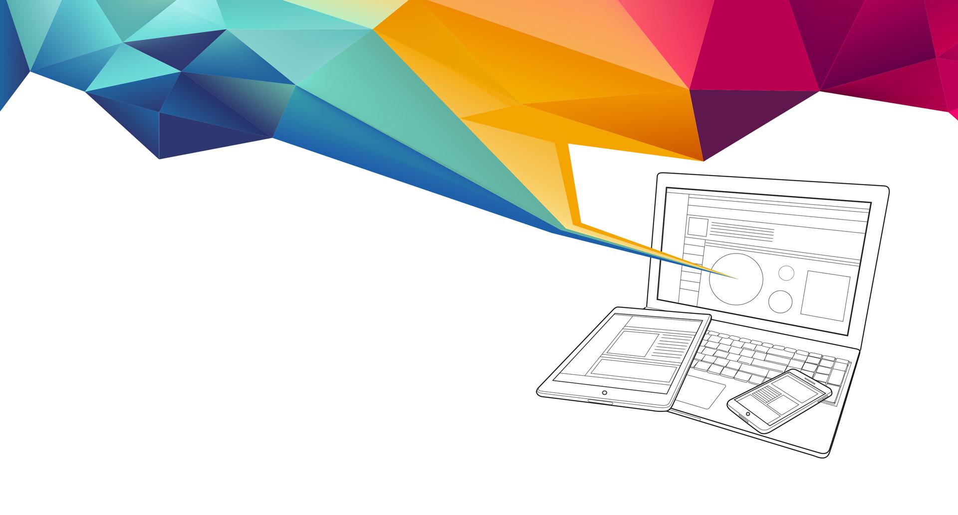 Vektorgrafik Laptop, Handy, Tablet