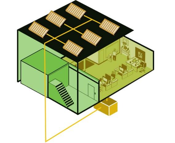 Illustration EXWE Green Building