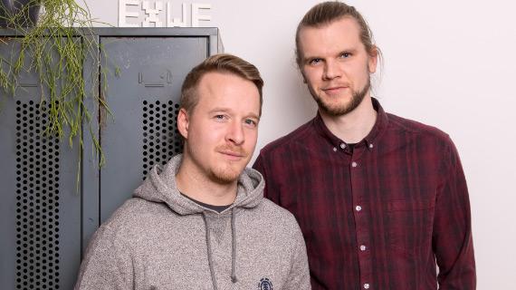 EXWE Geschäftsführer Yuri & Chris