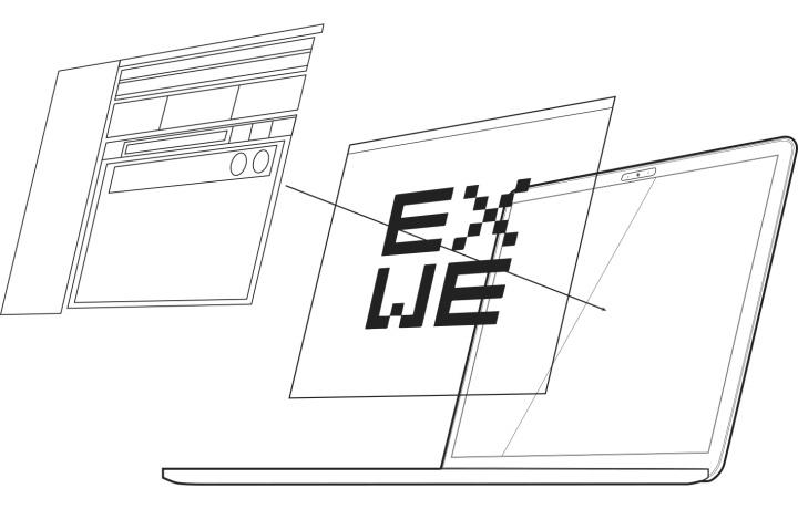 Grafik EXWE Laptop