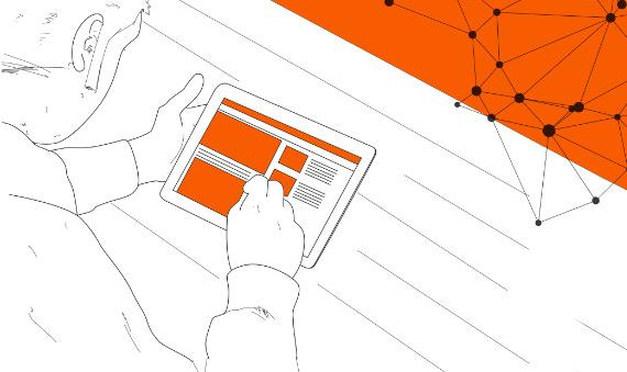 Grafik Tablet - responsive Web Applikationen Entwicklung