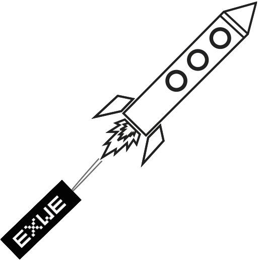 Grafik EXWE Rakete