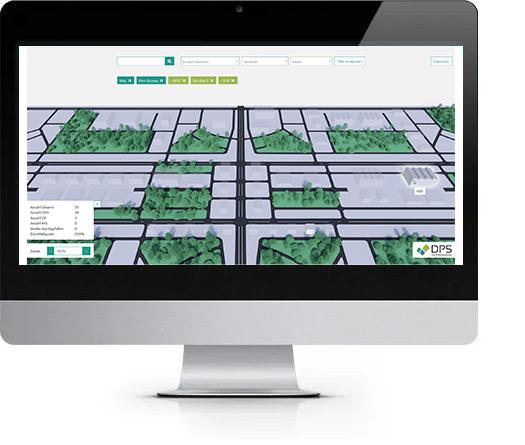 Mockup Gebäudeprüfung für Software Entwicklung