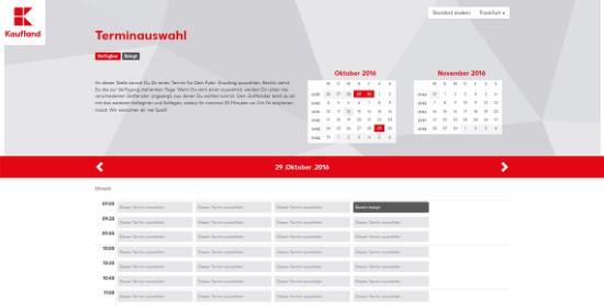 Terminplanungssoftware Kaufland