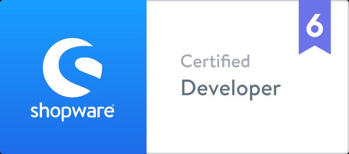 Zertifizierung: Shopware 6, Certified Developer für Onlineshop Erstellung