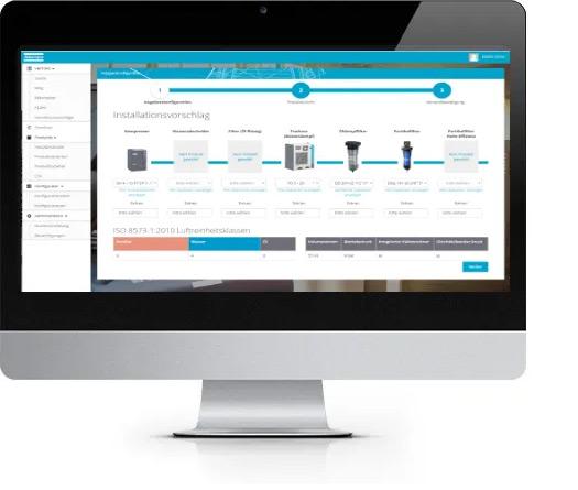 Mockup Vertriebstool für Software Entwicklung
